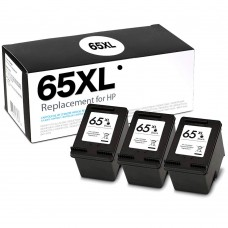 HP65XL N9K04AN RECYCLED BLACK INKJET CARTRIDGE (BOX CONTAINS 3 CARTRIDGE CASES AND 1 PRINTHEAD)