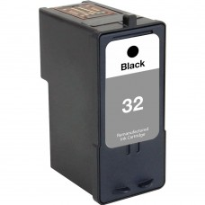 LEXMARK 18C0032 (32) RECYCLED BLACK INKJET CARTRIDGE