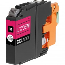 BROTHER LC20EM XXL COMPATIBLE INKJET MAGENTA CARTRIDGE EXTRA HIGH YIELD