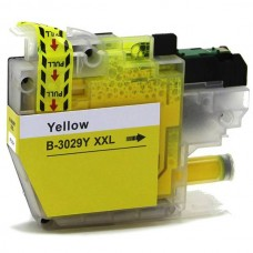 BROTHER LC3029Y XXL COMPATIBLE INKJET YELLOW CARTRIDGE
