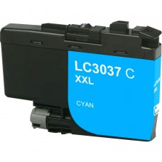 BROTHER LC3037C XXL COMPATIBLE INKJET CYAN CARTRIDGE EXTRA HIGH YIELD