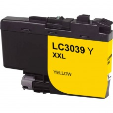 BROTHER LC3039Y XXL COMPATIBLE INKJET YELLOW CARTRIDGE ULTRA HIGH YIELD