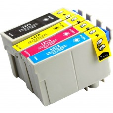 COMBO EPSON T127 BK/C/M/Y XL COMPATIBLE INKJET BLACK/C/M/Y CARTRIDGE