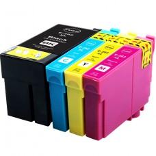 COMBO EPSON T252 BK/C/M/Y XL COMPATIBLE INKJET BLACK/C/M/Y CARTRIDGE
