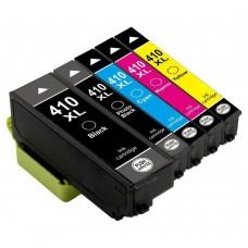 COMBO EPSON T410 BK/PBK/C/M/Y XL COMPATIBLE INKJET BLACK/C/M/Y CARTRIDGE