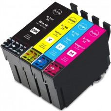 COMBO EPSON T702XL BK/C/M/Y XL COMPATIBLE INKJET BLACK/C/M/Y CARTRIDGE