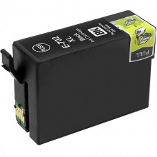 EPSON 702 T702XL120 RECYCLED INKJET BLACK CARTRIDGE