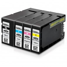 COMBO CANON PGI-1200/CLI-1200 BK/C/M/Y XL COMPATIBLE INKJET BLACK/C/M/Y CARTRIDGE
