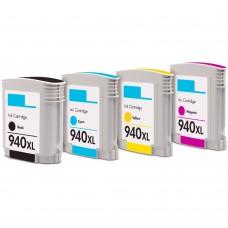 COMBO HP940 BK/C/M/Y XL COMPATIBLE INKJET BLACK/C/M/Y CARTRIDGE