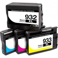 COMBO HP932/HP933 BK/C/M/Y XL COMPATIBLE INKJET BLACK/C/M/Y CARTRIDGE