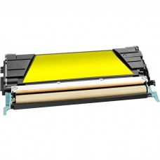 LEXMARK C746A1YG LASER COMPATIBLE XL YELLOW TONER CARTRIDGE