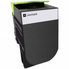 LEXMARK 78C1XK0 LASER RECYCLED BLACK TONER CARTRIDGE HIGH YIELD