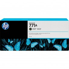 HP771A B6Y15A ORIGINAL INKJET BLACK MAT CARTRIDGE