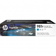 HP981Y L0R13A ORIGINAL INKJET CYAN CARTRIDGE EXTRA HIGH YIELD