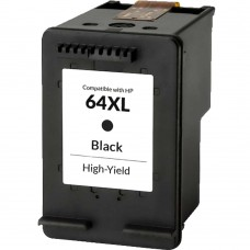 HP64XL N9J92AN RECYCLED BLACK INKJET CARTRIDGE