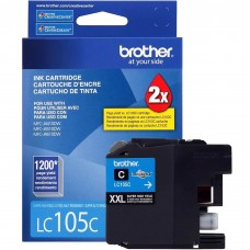 BROTHER LC105C ORIGINAL INKJET CYAN CARTRIDGE