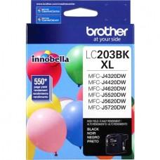 BROTHER LC203BK ORIGINAL INKJET BLACK CARTRIDGE