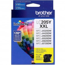 BROTHER LC205Y ORIGINAL INKJET YELLOW CARTRIDGE