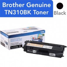 BROTHER TN310BK LASER ORIGINAL BLACK TONER CARTRIDGE