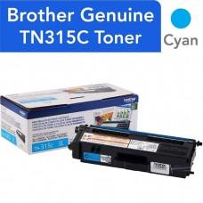 BROTHER TN315C LASER ORIGINAL CYAN TONER CARTRIDGE