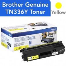 BROTHER TN336Y LASER ORIGINAL YELLOW TONER CARTRIDGE