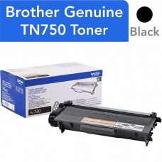 BROTHER TN750 LASER ORIGINAL BLACK TONER CARTRIDGE