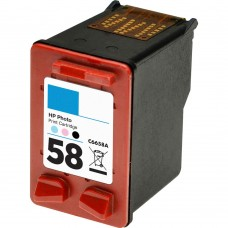 HP58 C6658AN RECYCLED PHOTO COLOR INKJET CARTRIDGE
