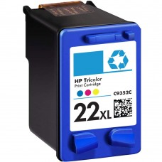 HP22XL C9352AN RECYCLED COLOR INKJET CARTRIDGE