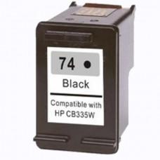 HP74 CB335WC RECYCLED BLACK INKJET CARTRIDGE