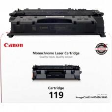 CANON 119 3479B001AA ORIGINAL BLACK TONER CARTRIDGE