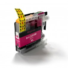 BROTHER LC201M/LC203M XL COMPATIBLE INKJET MAGENTA CARTRIDGE