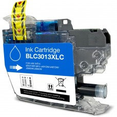 BROTHER LC3011C/LC3013C XL COMPATIBLE INKJET CYAN CARTRIDGE