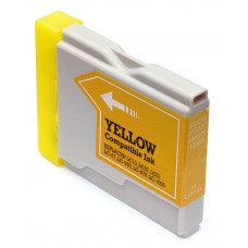 BROTHER LC51Y COMPATIBLE INKJET YELLOW CARTRIDGE