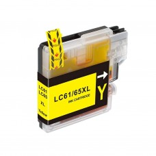 BROTHER LC61Y COMPATIBLE INKJET YELLOW CARTRIDGE