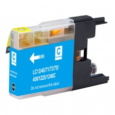 BROTHER LC75C XL COMPATIBLE INKJET CYAN CARTRIDGE