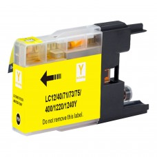 BROTHER LC71Y/LC75Y XL COMPATIBLE INKJET YELLOW CARTRIDGE