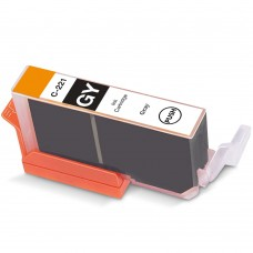CANON CLI-221GY COMPATIBLE INKJET GRAY CARTRIDGE