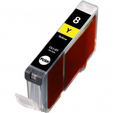 CANON CLI-8Y COMPATIBLE INKJET YELLOW CARTRIDGE