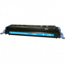 HP124A Q6001A LASER RECYCLED CYAN TONER CARTRIDGE