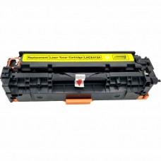 HP305A CE412A LASER RECYCLED YELLOW TONER CARTRIDGE