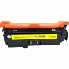 HP507A CE402A LASER RECYCLED YELLOW TONER CARTRIDGE