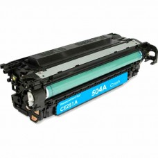 HP504A CE251A LASER RECYCLED CYAN TONER CARTRIDGE