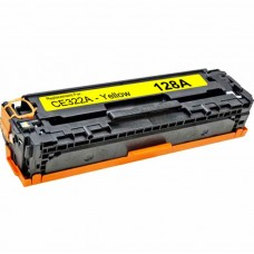 HP128A CE322A LASER COMPATIBLE YELLOW TONER CARTRIDGE