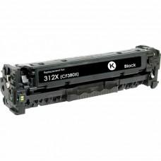 HP312X CF380X LASER RECYCLED BLACK TONER CARTRIDGE