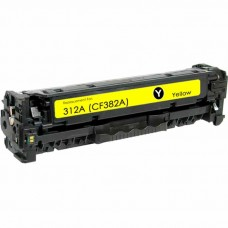 HP312A CF382A LASER COMPATIBLE YELLOW TONER CARTRIDGE