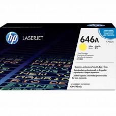 HP646A CF032A LASER ORIGINAL YELLOW TONER CARTRIDGE