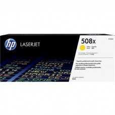 HP508X CF362X LASER ORIGINAL YELLOW TONER CARTRIDGE HIGH YIELD