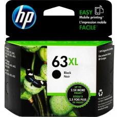 HP63XL F6U64AN ORIGINAL INKJET BLACK CARTRIDGE