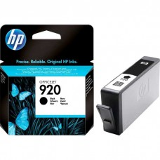 HP920 CD971AC ORIGINAL INKJET BLACK CARTRIDGE