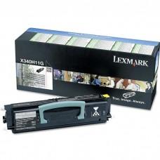 LEXMARK X340H11G LASER ORIGINAL BLACK TONER CARTRIDGE
